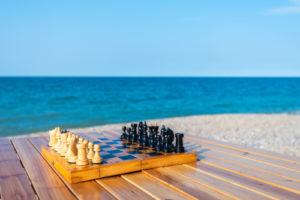 Schack och sommar
